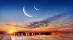 New Moons & sun